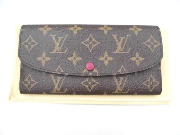 LVルイヴィトン財布ポルトフォイユ・エミリーを買取しました。サムネイル
