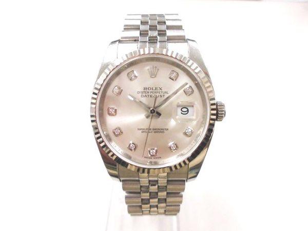 ロレックスROLEX時計デイトジャストを買取しました。サムネイル
