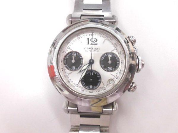 カルティエ時計 パシャ 買取しました。サムネイル
