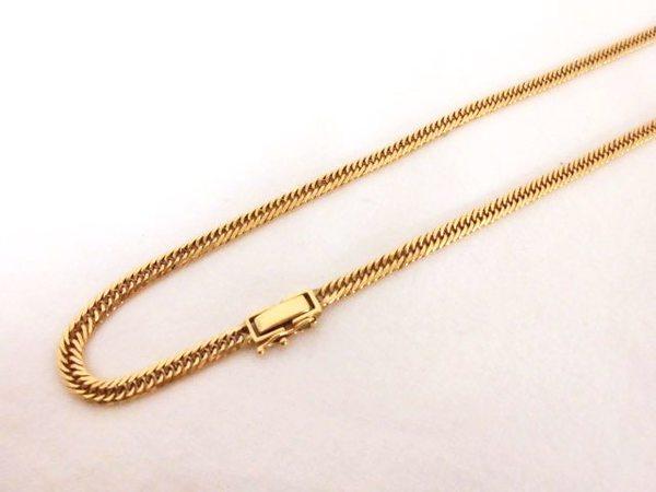 K18 喜平6面ネックレスを買取しました。サムネイル