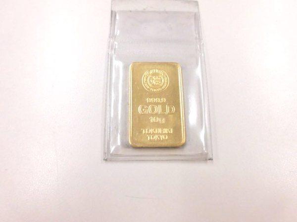 純金 K24インゴットを買取しました。サムネイル