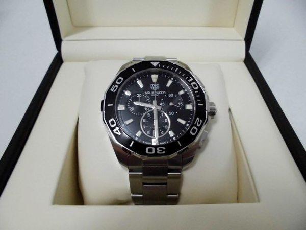 タグホイヤー時計 アクアレーサーを買取しました。サムネイル
