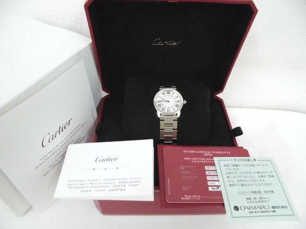 カルティエ時計 ロンドソロを買取しました。サムネイル